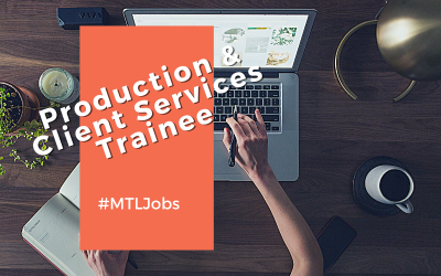 Production and Client Services Trainee